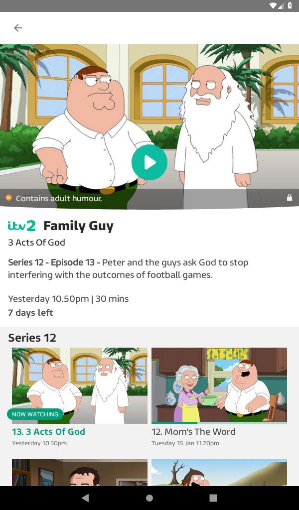 ITV Hub for Android - APK Download