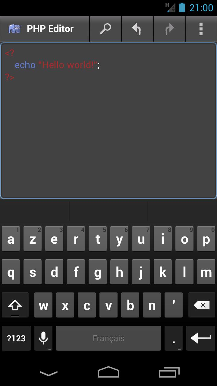 JavaScript Editor for Android - APK Download
