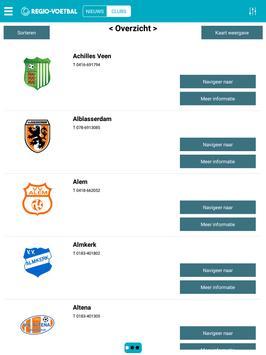 Regio-Voetbal.nl screenshot 3
