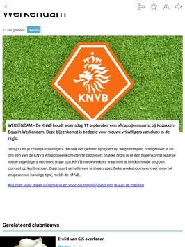 Regio-Voetbal.nl screenshot 1