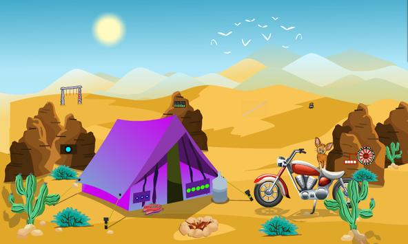 Smiley Desert Escape screenshot 1