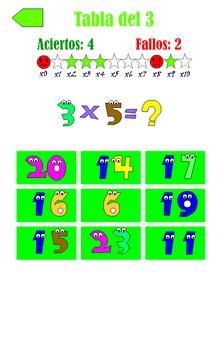 Tablas de Multiplicar 截图 12