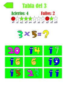 Tablas de Multiplicar 截图 4