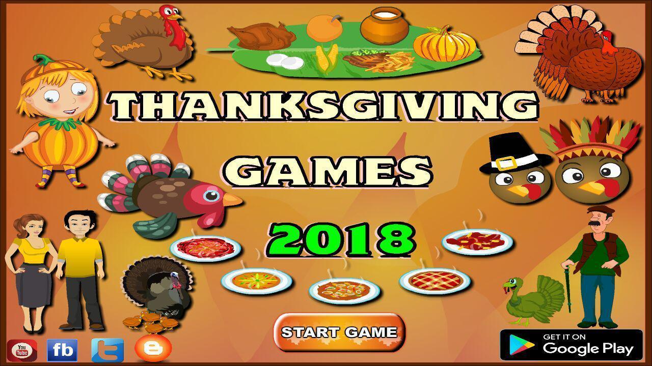 games thanksgiving download
