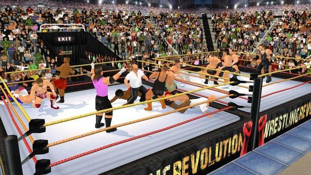 Wrestling Revolution 3D imagem de tela 4