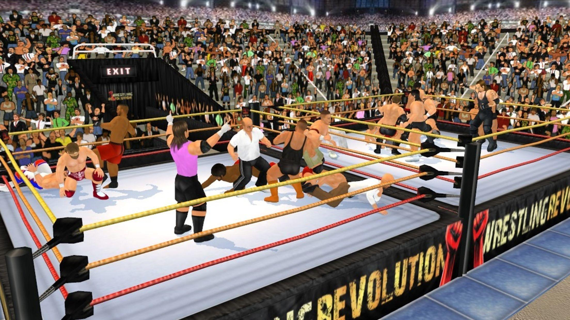 Wrestling Revolution 3D for Android - APK Download