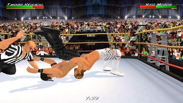 Wrestling Revolution 3D imagem de tela 9