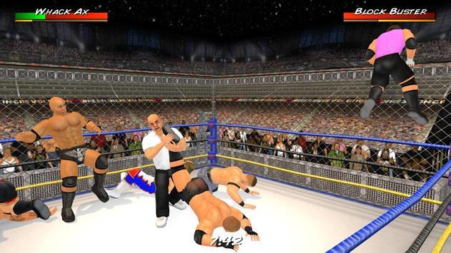 Wrestling Revolution 3D 海報
