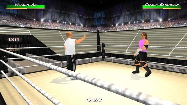 Wrestling Revolution 3D imagem de tela 20