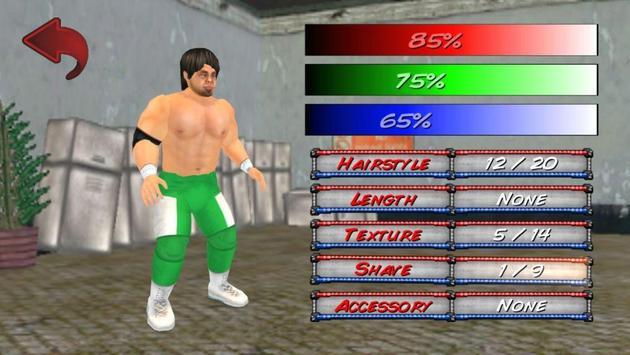 Wrestling Revolution 3D imagem de tela 3