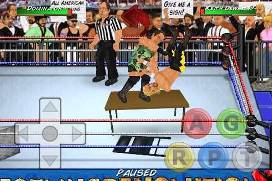 Wrestling Revolution Ekran Görüntüsü 6