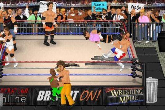 Wrestling Revolution poster