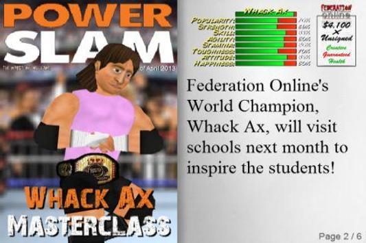 Wrestling Revolution Ekran Görüntüsü 3
