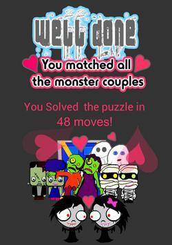 Monster Honeymoon Match screenshot 3