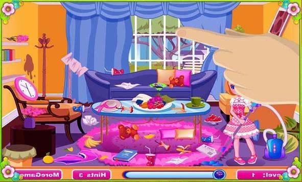العاب تنظيف وترتيب المنزل تصوير الشاشة 4