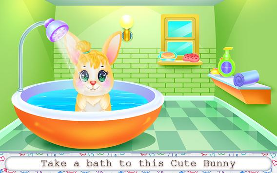 Cute Bunny Caring and Dressup screenshot 2