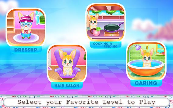 Cute Bunny Caring and Dressup screenshot 7