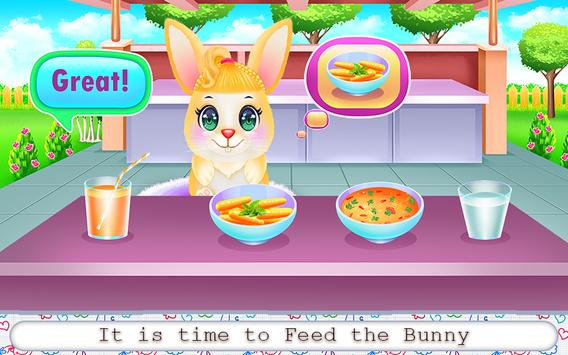 Cute Bunny Caring and Dressup screenshot 5