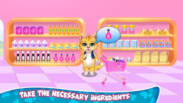 Sweet Rainbow Kitty Cookies imagem de tela 1