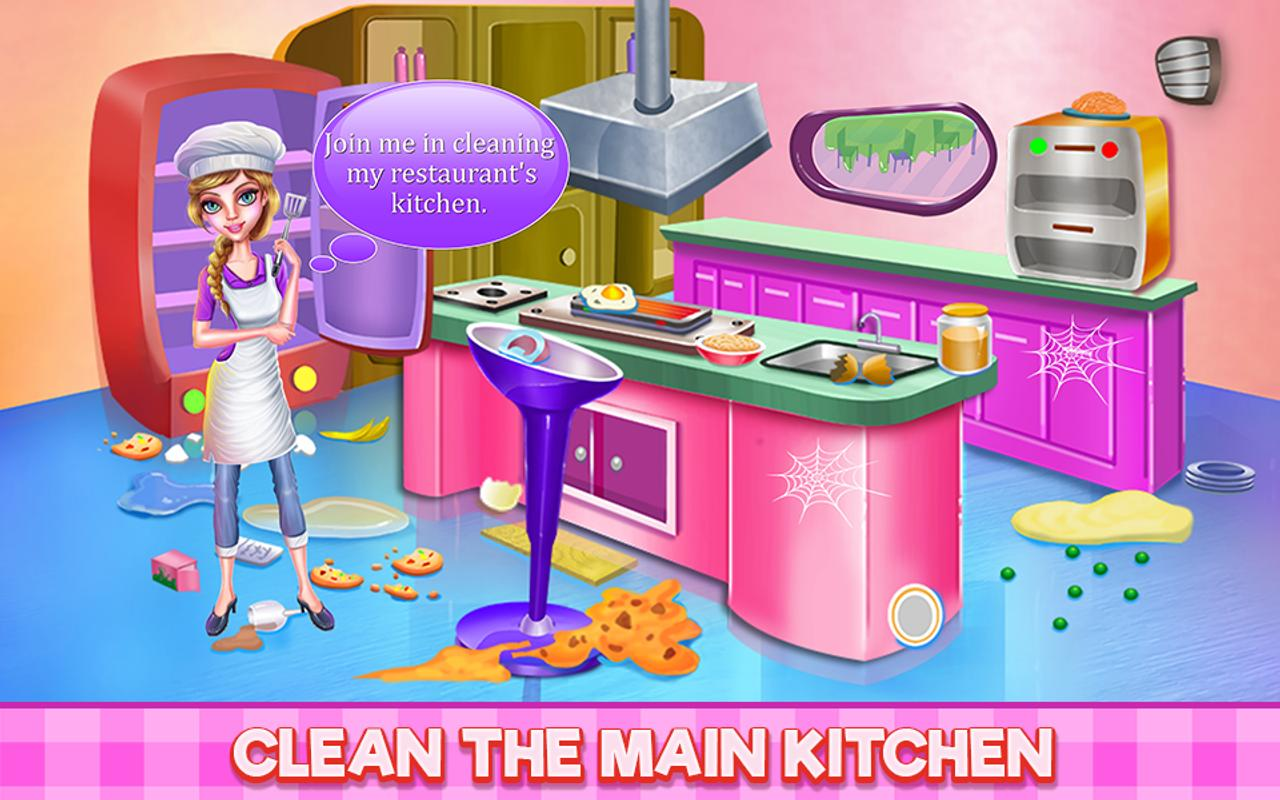 ... Restaurant Kitchen Cleaning screenshot 16 ...