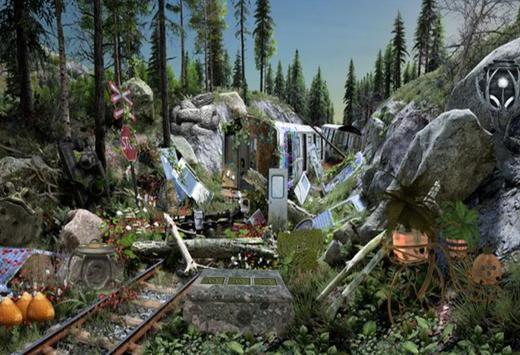 Escape Room Game Forest Train Station screenshot 4
