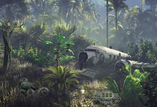 Escape Room Game Forest Train Station screenshot 3