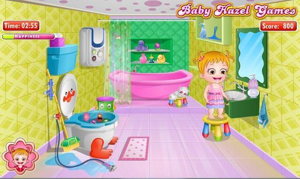 Baby Hazel Bathroom Hygiene screenshot 2