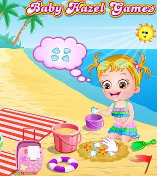 Baby Hazel Beach Holiday poster