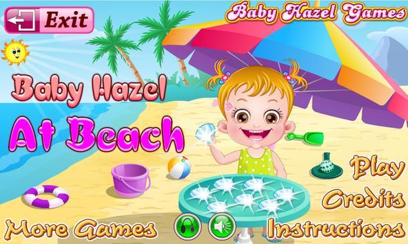 Baby Hazel Beach Holiday screenshot 1