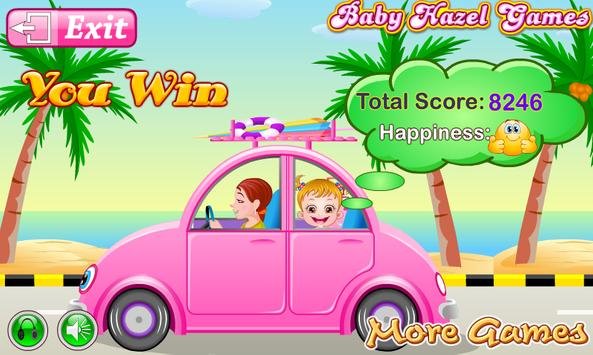 Baby Hazel Beach Holiday screenshot 3