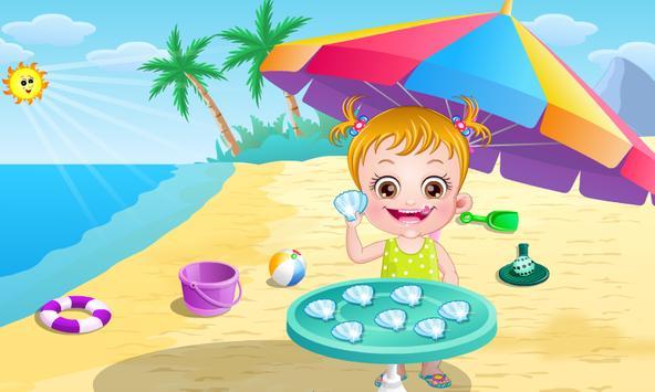 Baby Hazel Beach Holiday screenshot 5