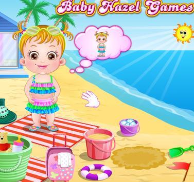 Baby Hazel Beach Holiday screenshot 7