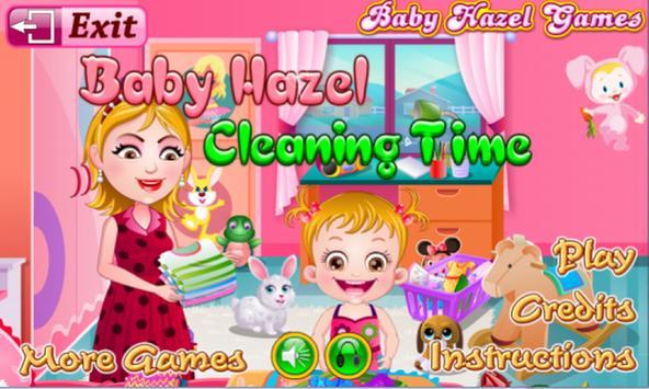 Baby Hazel Cleaning Time screenshot 2