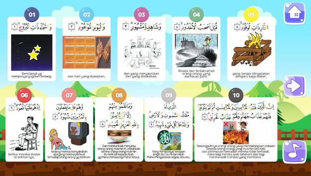 SURAH AL BURUJ poster