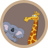 ANIMALS FOR KIDS flashcards icon