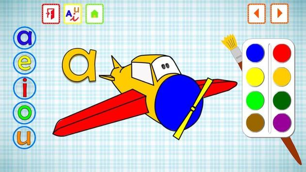 VOWELS FOR KIDS IN SPANISH screenshot 1