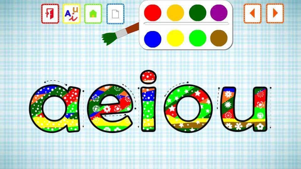 VOWELS FOR KIDS IN SPANISH for Android - APK Download