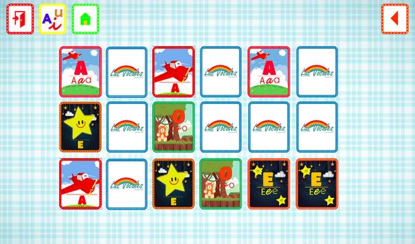 VOWELS FOR KIDS IN SPANISH screenshot 3