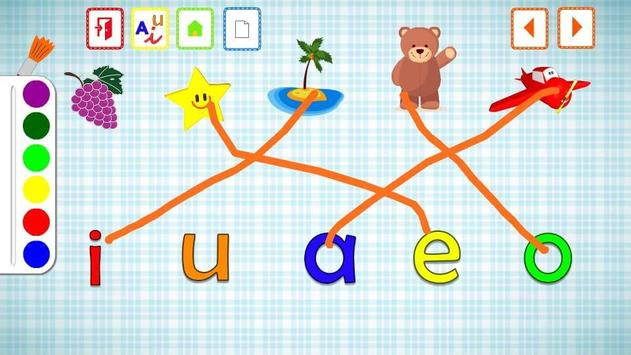 VOWELS FOR KIDS IN SPANISH screenshot 4