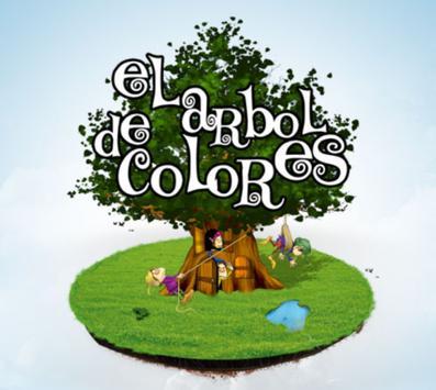 Arbol de Colores poster