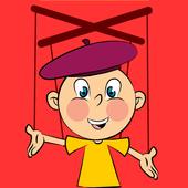 Comic Puppet Gif Maker icon