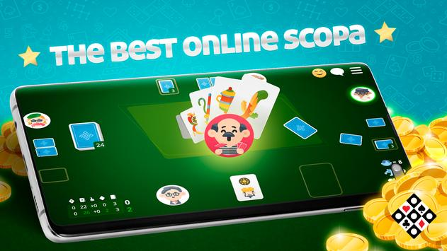 Scopa Online: Free Card Game poster