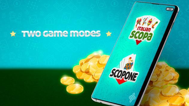 Scopa Online: Free Card Game screenshot 1