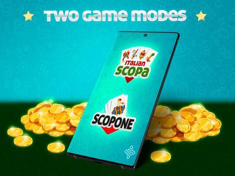 Scopa Online: Free Card Game screenshot 4