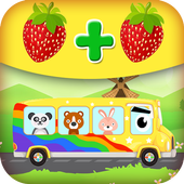 1st 2nd grade math games for kids icon