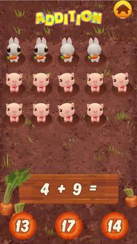 1st 2nd grade math games for kids screenshot 1