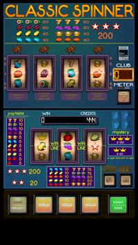 Free Slot Machine Classic Spinner poster
