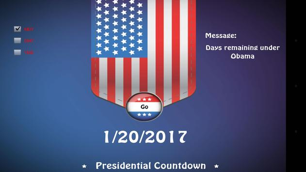 Presidential Countdown screenshot 23
