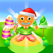 Chinese food and gingerbread cooking games icon