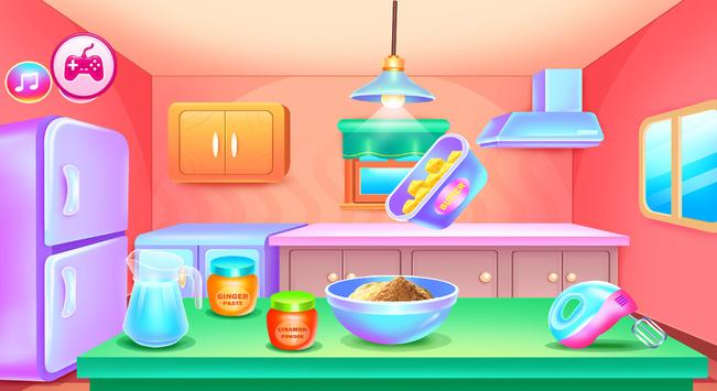 Chinese food and gingerbread cooking games screenshot 9